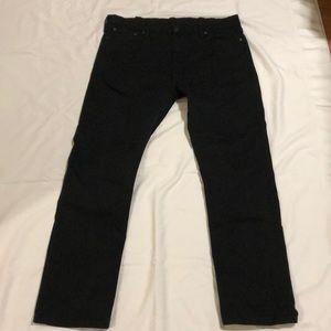 Levi's Black 513 Jeans
